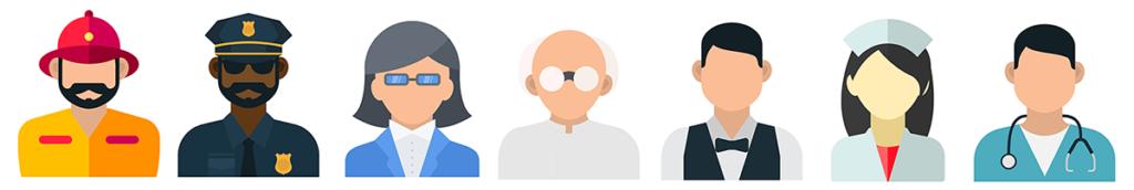 career avatars